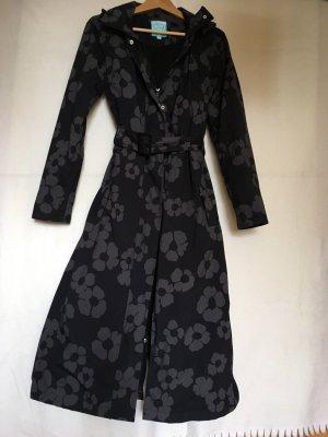Happy Rainy Days Manteau de pluie noir-gris