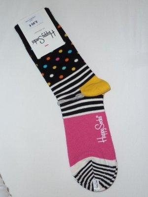 Happy Socks, neu, bunt gemustert, Größe 36-40