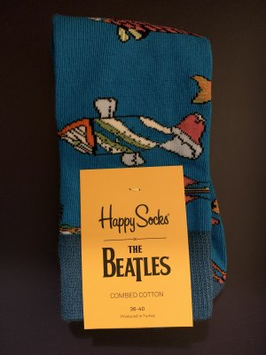 Happy Socks x The Beatles Yellow Submarine