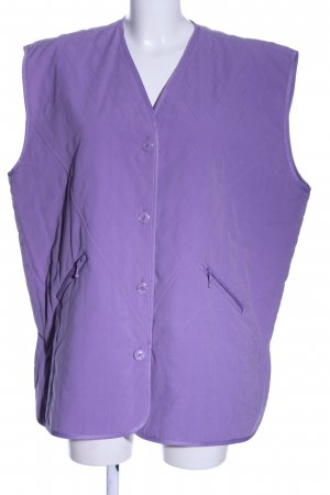 happytex Quilted Gilet lilac quilting pattern casual look