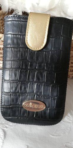 Pompöös by Harald Glöckler Hoesje voor mobiele telefoons zwart-goud