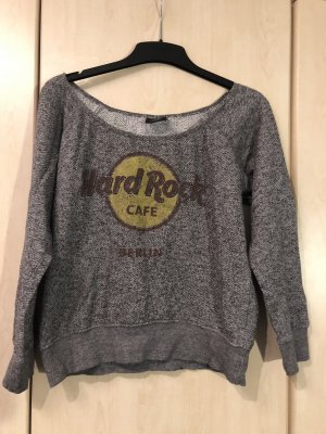 Hard Rock Berlin Pullover grau Medium