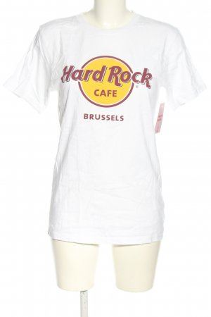 Hard Rock Cafe Oversized Shirt Motivdruck Casual-Look