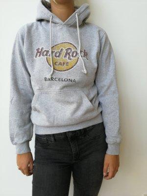 Hard Rock Cafe Podwójny sweter jasnoszary