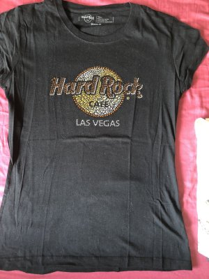 Hard rock cafe shirt original las Vegas gold Sternchen