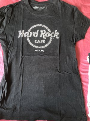 Hard rock cafe shirt schwarz Miami original