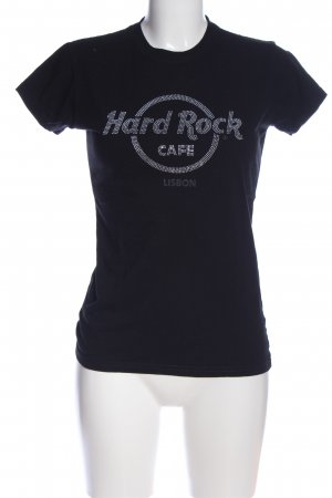 Hard Rock Cafe T-Shirt schwarz Casual-Look