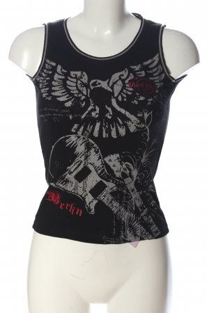 Hard Rock Cafe Tanktop Motivdruck Casual-Look