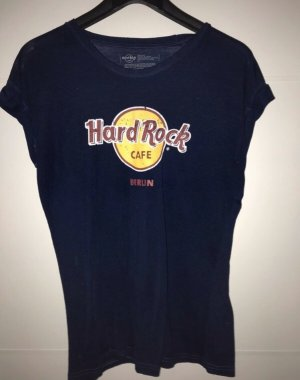 Hard Rock Cafe Tshirt blau