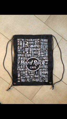 Hard Rock Cafe Sac de sport blanc-noir