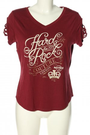 Hard Rock Couture Print-Shirt