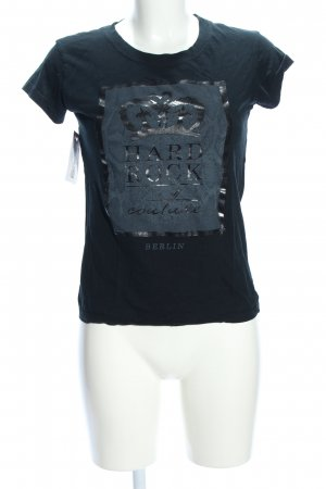 Hard Rock Couture T-Shirt grün Motivdruck Casual-Look