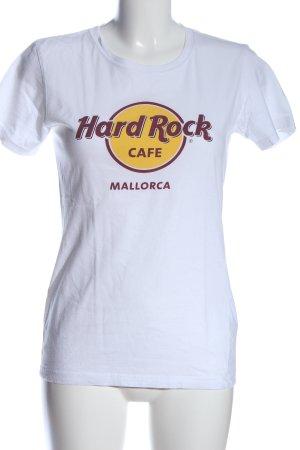 Hard Rock Couture T-Shirt Schriftzug gedruckt Casual-Look