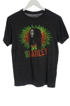 hard rock Print-Shirt