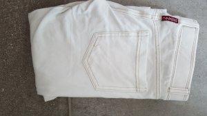 Legging blanc-beige