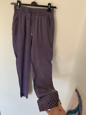 Haremhose mit tollem Muster in lila aus Viskose, XS/S