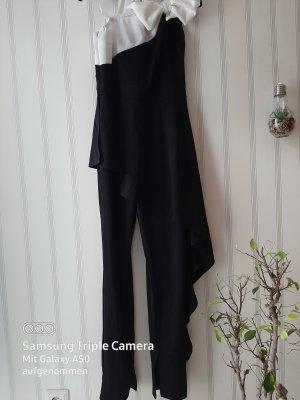 .12 puntododici Langer Jumpsuit white-black