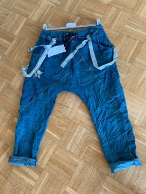 Harems JogPants/Hose - JeansLook - Blue - FreeSize - Italy