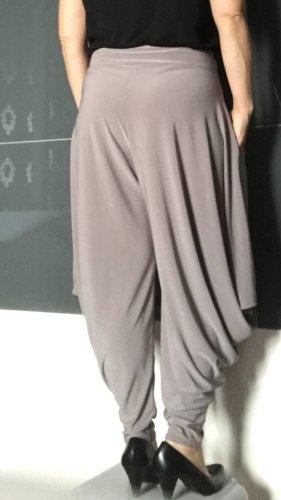 Harem Pants silver-colored-grey