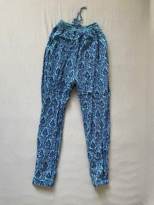 FB Sister Harem Pants neon blue-blue