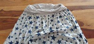 Harem Pants oatmeal-cornflower blue mixture fibre