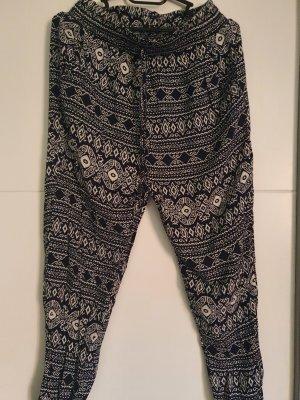 Pantalón estilo Harem azul