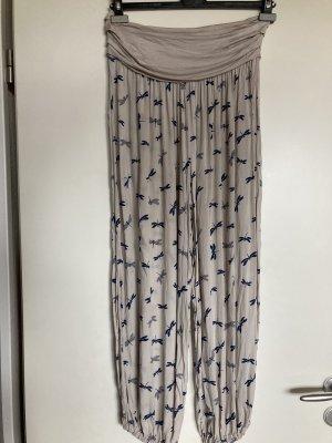 My Holly's Pantalone alla turca blu scuro-grigio chiaro