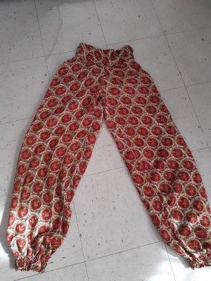Pantalone alla turca oro-rosso