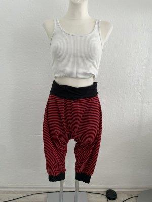 Harem Pants black-red