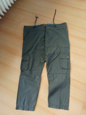 Only Pantalone alla turca grigio-verde