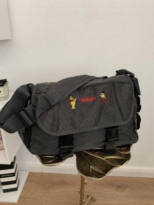 Haribo Tasche Crossbody Messenger Bag grau anthrazit neu