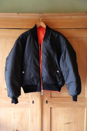 Harley Davidson Biker Jacket black-orange