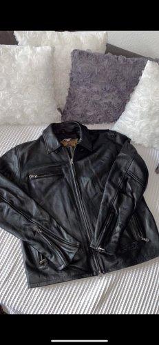 Harley Davidson Giacca in pelle nero