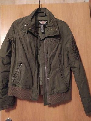 Harley Davidson Between-Seasons Jacket khaki