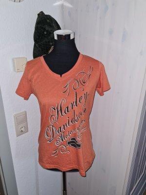 Harley Davidson T-shirt arancione