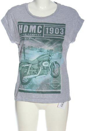 Harley Davidson T-shirt puntinato stile casual