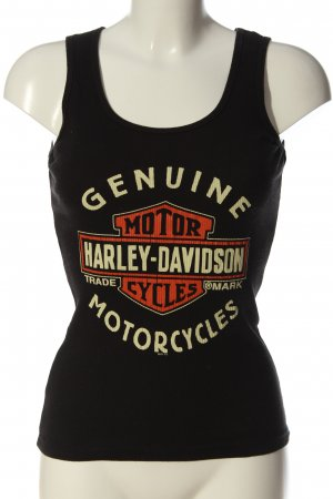 Harley Davidson Canotta Stampa a tema stile casual