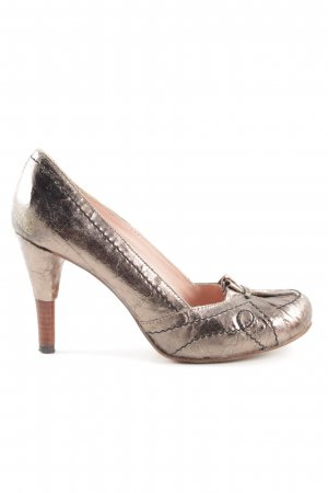 Harlot High Heels bronzefarben Elegant