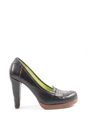 Harlot High Heels schwarz Casual-Look