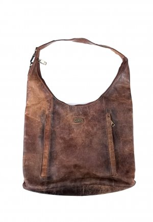 HAROLD'S Pouch Bag light brown-brown leather