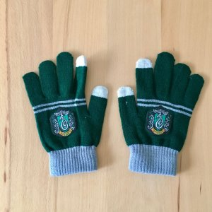 Harry Potter Slytherin Hogwarts Handschuhe