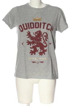 Harry Potter T-Shirt meliert Casual-Look