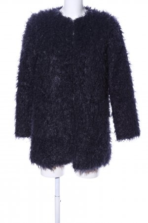 Hartford Fake Fur Jacket black casual look