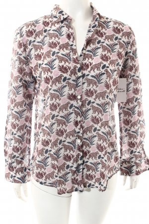 Hartford Langarm-Bluse Allover-Druck Casual-Look