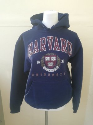 Harvard University Boston Kapuzen Pullover University Hoodie unisex blau M