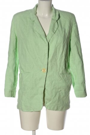harve benard by Benard Holtzman Blazer tejido verde look casual