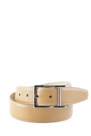 Harvest Leather Belt cognac-coloured street-fashion look