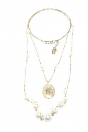 Hasel Collier Necklace gold-colored casual look