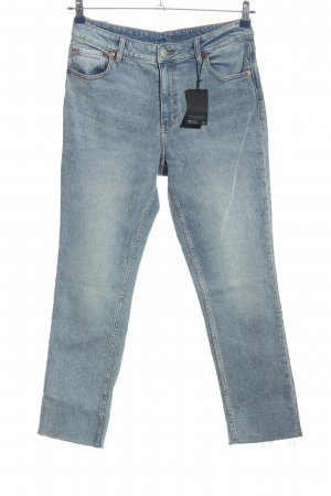 Hash#TAG Sustainable 7/8-jeans blauw casual uitstraling
