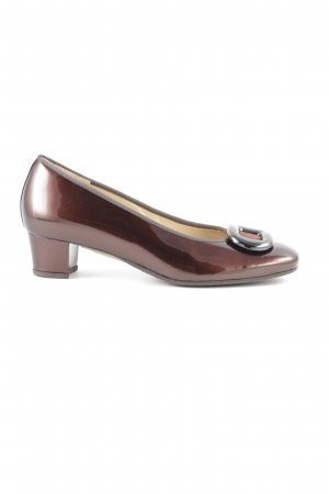 Hassia High Heels bronzefarben Business-Look